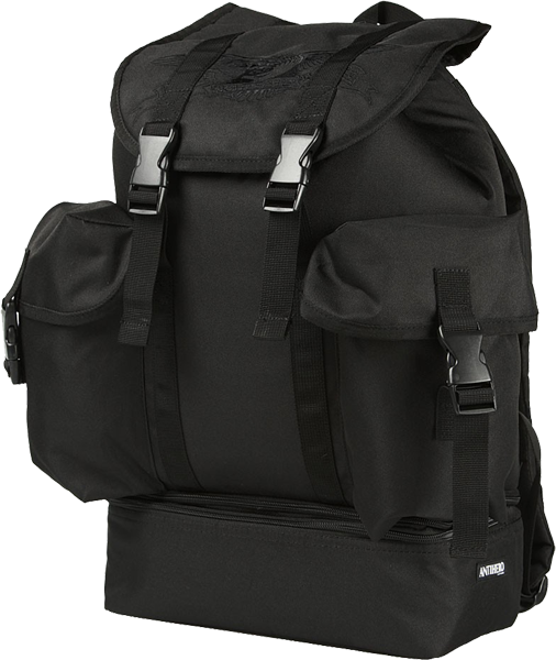 Ah Military Backpack Black W/Cooler Compartment