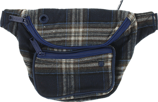 Bumbag Deluxe Flanders Blue Plaid