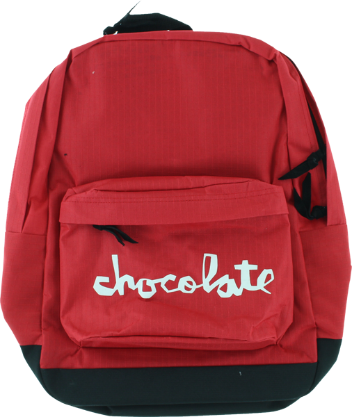 Choc Chunk Backpack Red/Blk
