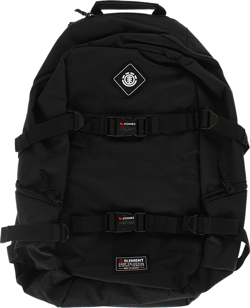 Ele Jaywalker Backpack Flint Blk/Coordinates Patch