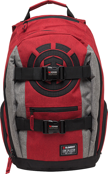 Ele Mohave Backpack Brick Red Heather