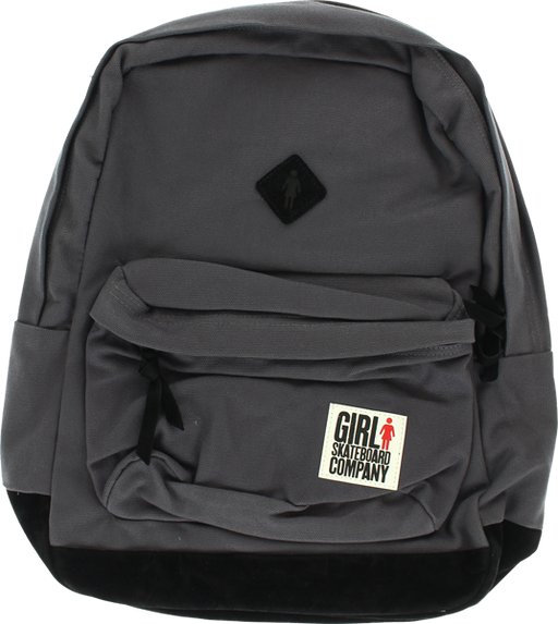 Girl Simple Backpack Charcoal