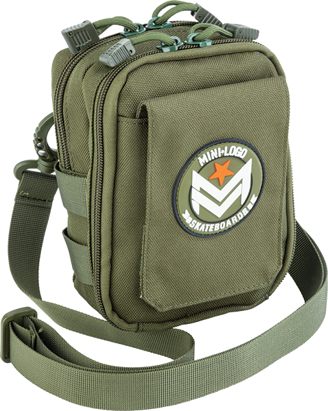 Mini Logo Shoulder Bag Army Green