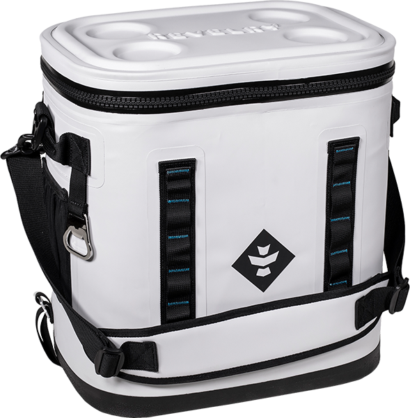 Revelry Nomad Soft Cooler Light Grey