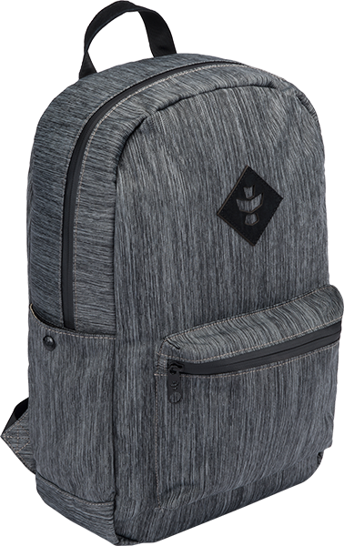 Revelry Escort Backpack 18L Striped Dark Grey/Blk