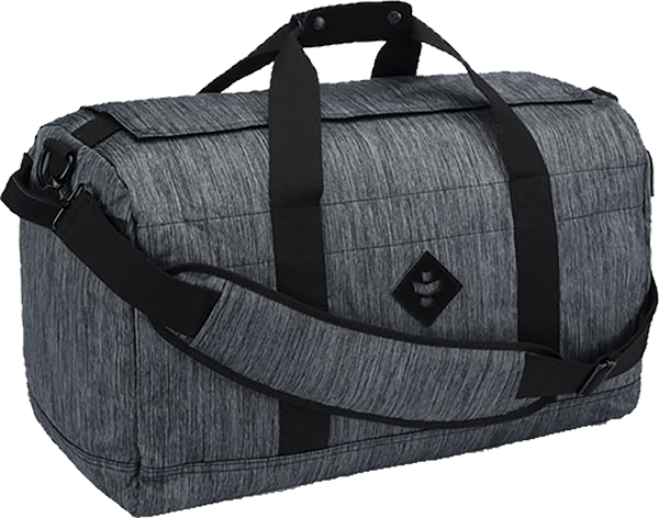 Revelry Around-Towner Duffle 72L Striped Dk.Grey