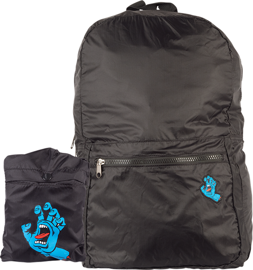 Sc Screaming Hand Packable Backpack Black