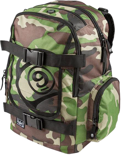 Sec9 Field Backpack Camo