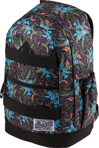 Sec9 Vacay Backpack Black/Tropical