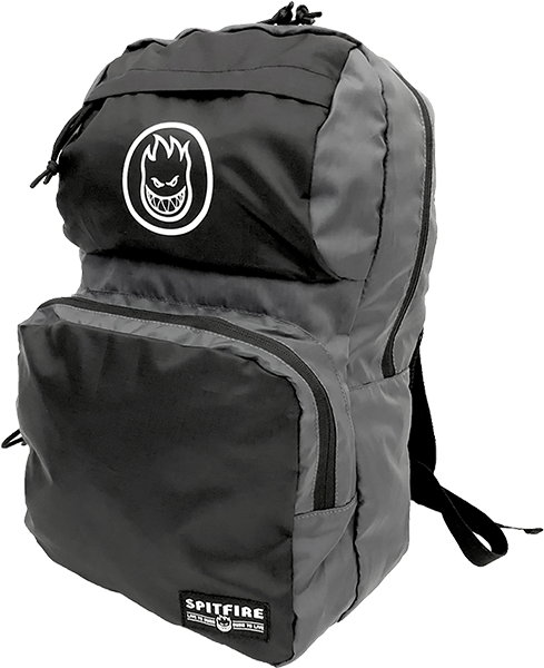 Sf Bighead Circle Packable Backpack Blk/Grey