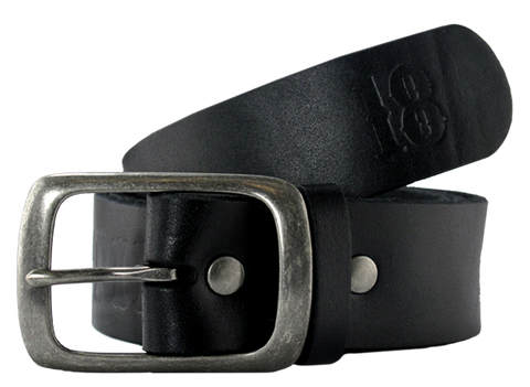 Ah Pieced Belt S-Black