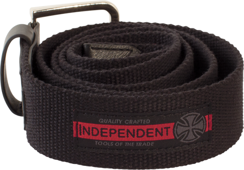 Inde Mature Web Belt S/M-Black