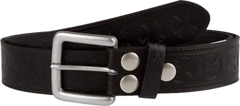 Inde Ave Cross Belt S/M Black