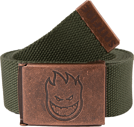 Sf Bighead Web Belt Brass/Dark Army