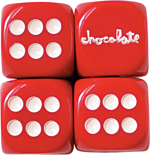Choc Custom Chunk Rolling Dice Set