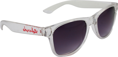 Choc Deluxe Sunglasses Clear