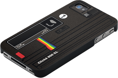 Cli Iphone5 Case- Polaroid Feather/Lightweight