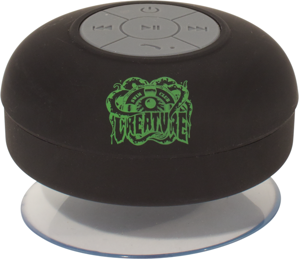 Creature Swim Club Green Tooth Speaker Black