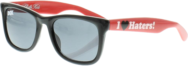 Dgk Haters Two Tone Shades Blk/Red