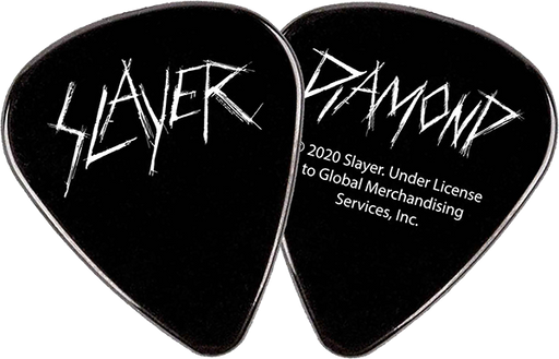 Diamond X Slayer Guitar Pick Black