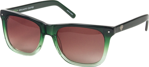 Diamond Vermont Sunglasses Fade Green