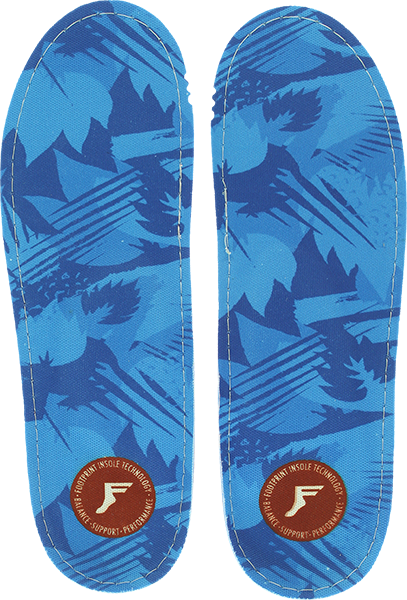 Footprint Kf Orthotic Low Blue Camo 8-8.5