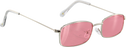 Glassy Rae Sil/Pink Mirror Sunglasses Polarized