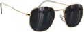 Glassy Turner Gold Sunglasses Polarized