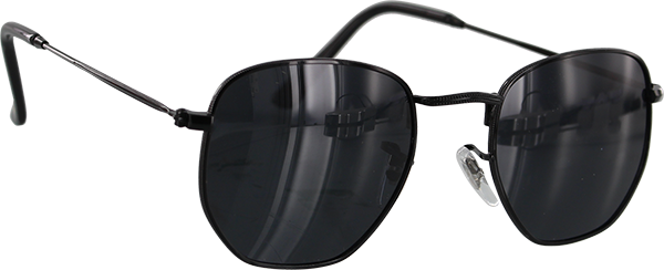 Glassy Turner Black Sunglasses Polarized