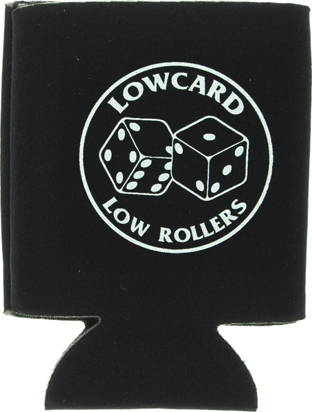 Lowcard Low Dice Coozie