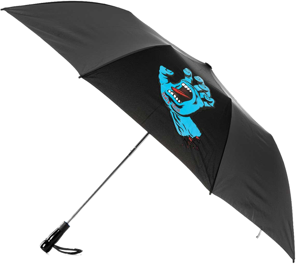 Sc Screaming Hand Umbrella Black