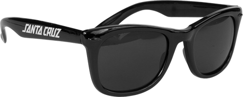 Sc Strip Shades Wayfarer Sunglasses Black