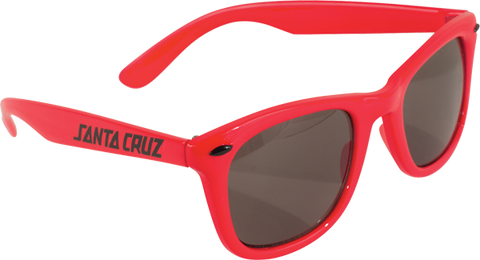 Sc Strip Shades Wayfarer Sunglasses Red