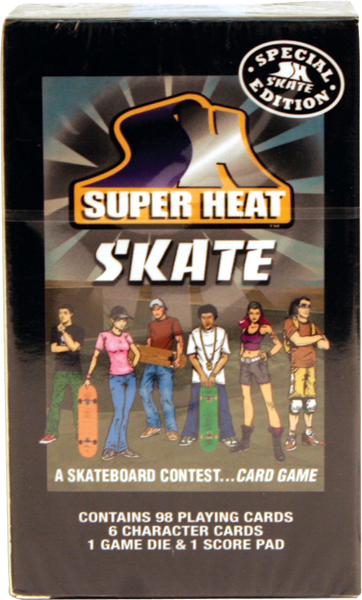 Super Heat Skate Card Game Sale