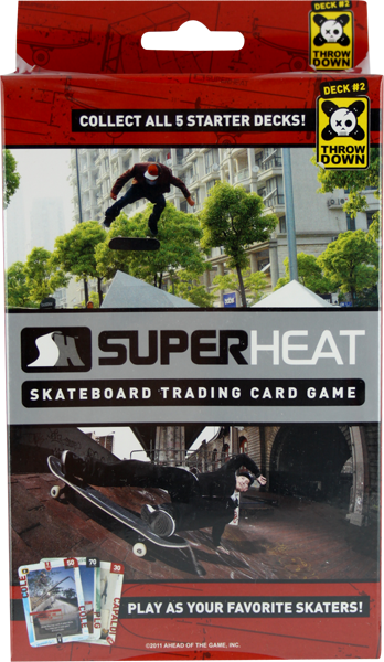 Superheat Throwdown Starter Deck #2 Card Game Sale