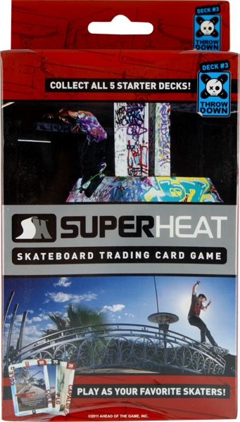 Superheat Throwdown Starter Deck #3 Card Game Sale