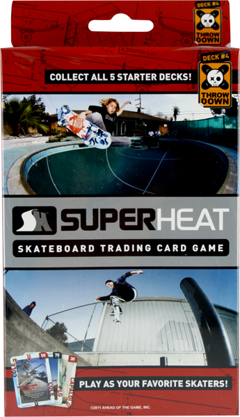 Superheat Throwdown Starter Deck #4 Card Game Sale