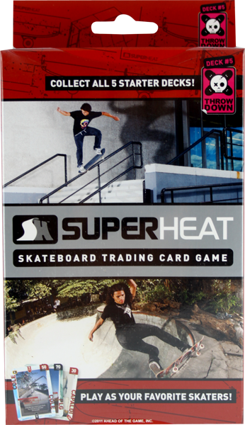 Superheat Throwdown Starter Deck #5 Card Game Sale