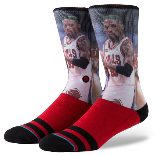 Stance Men's Rodman Socks - Red