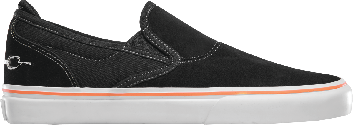 Emerica Wino G6 Slip-On X Funeral French - Black