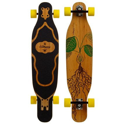 Loaded Fattail Bamboo Complete Longboard - 38""
