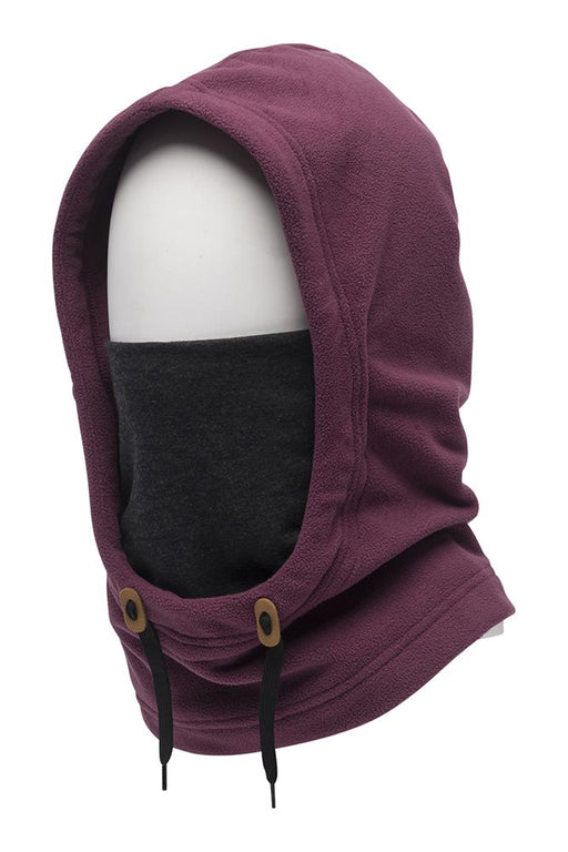 686 Tarmac Fleece Hood - Plum (2021)