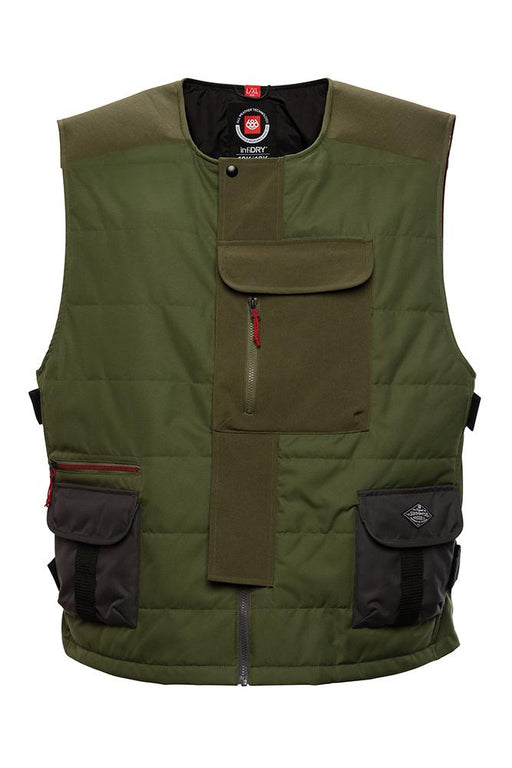 686 Torque Insulated Vest - Surplus Green (2021)