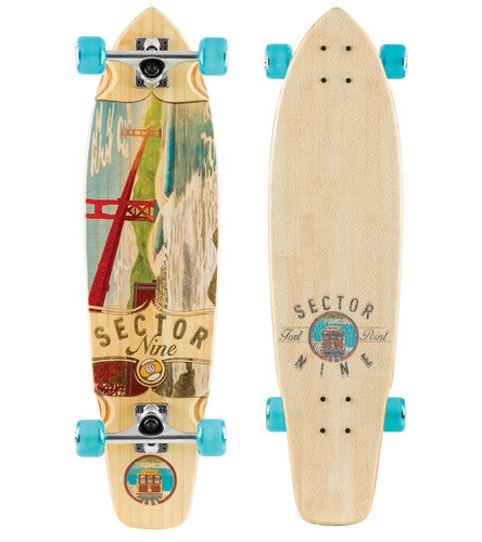 Sector 9 Ft Point Complete Longboard