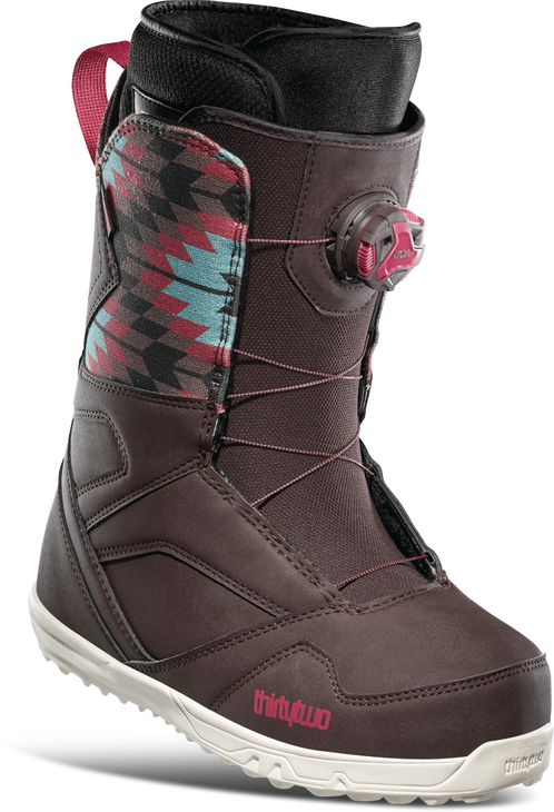 ThirtyTwo Women's STW BOA Snowboard Boots - Brown (2021)