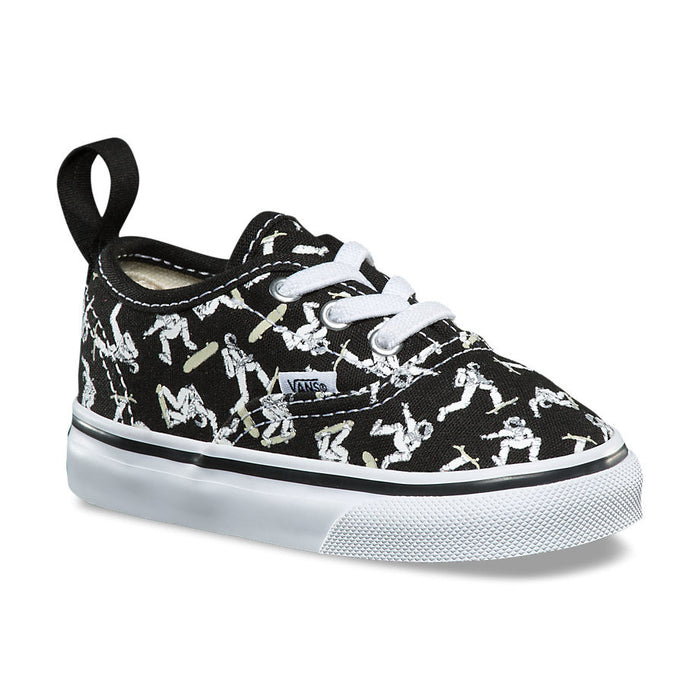 Vans Toddler Astronauts Authentic Elastic Lace - Black/Glow