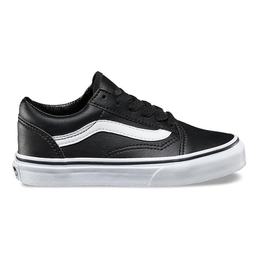 Vans Kids Old Skool Classic Tumble - Black/True White