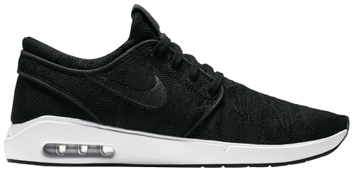 Nike SB Air Max Janoski 2 Black/Black/White Shoe