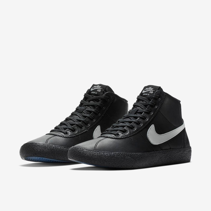 WOMEN'S Nike SB Bruin Hi Qs Black/Clear/White Shoe