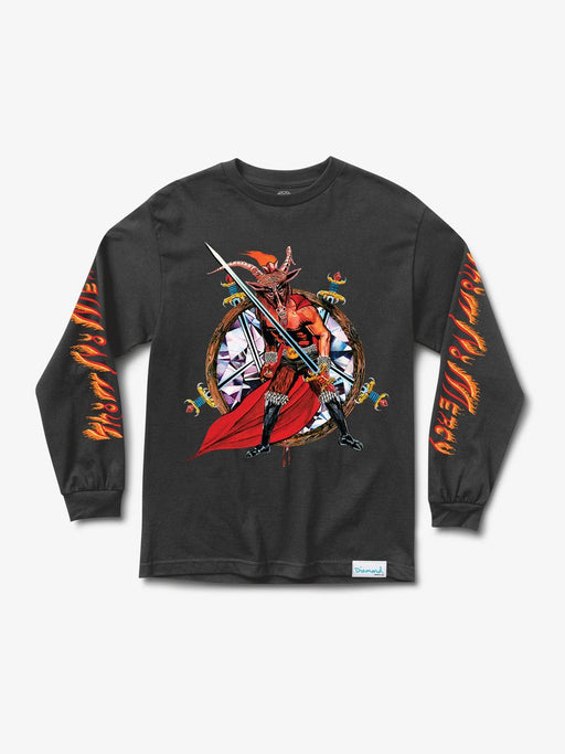 Diamond X Slayer No Mercy Long Sleeve Tee - Black